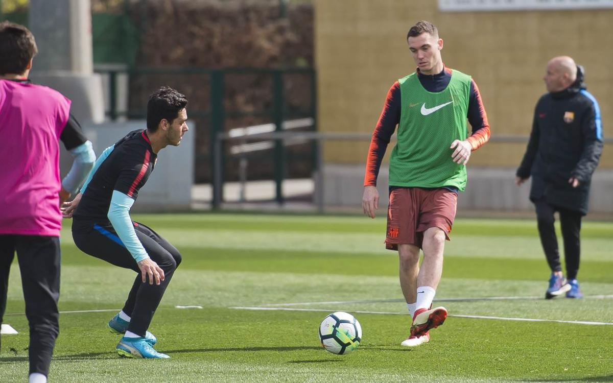 Joint training with Barça B