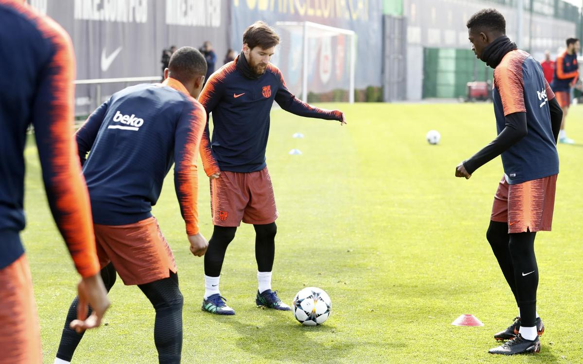 Preparations get underway for Roma game