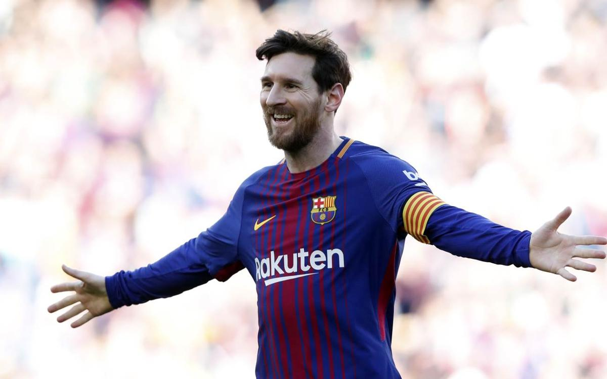 info for aac26 e0dce Lionel Messi: 500 goals as FC Barcelona's number 10