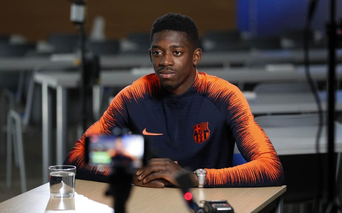 Ousmane Dembélé: 'The tie is not over'
