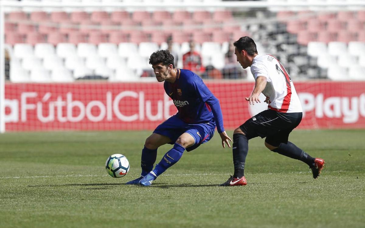 Sevilla Atlètic – Barça B: Superats per l'efectivitat andalusa a pilota aturada (3-1)