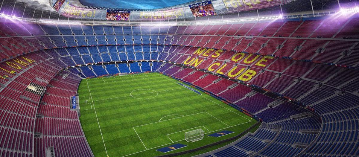 This is the Future Camp Nou