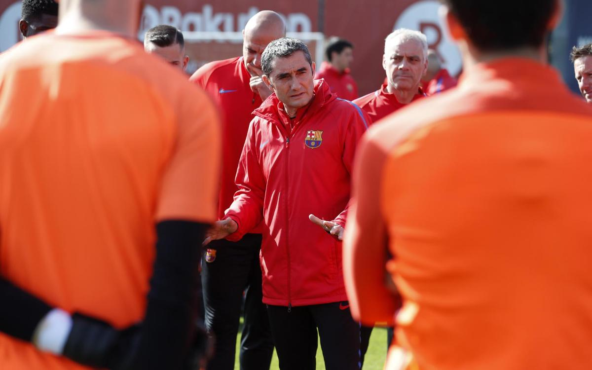 Ernesto Valverde: Roma no surprise package