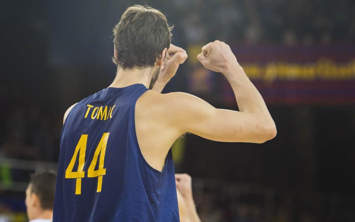 Ante Tomic, MVP del mes de marzo en la Liga Endesa