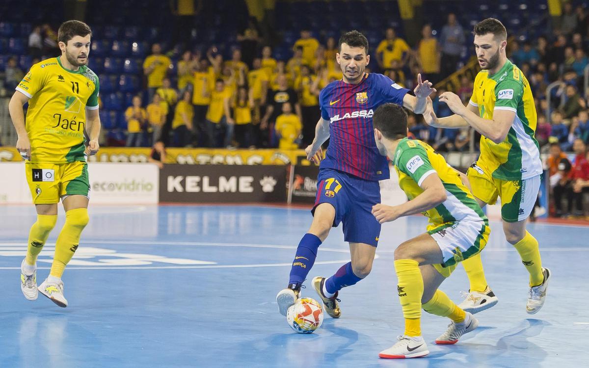 El Jaén, rival en la final de Copa del Rey