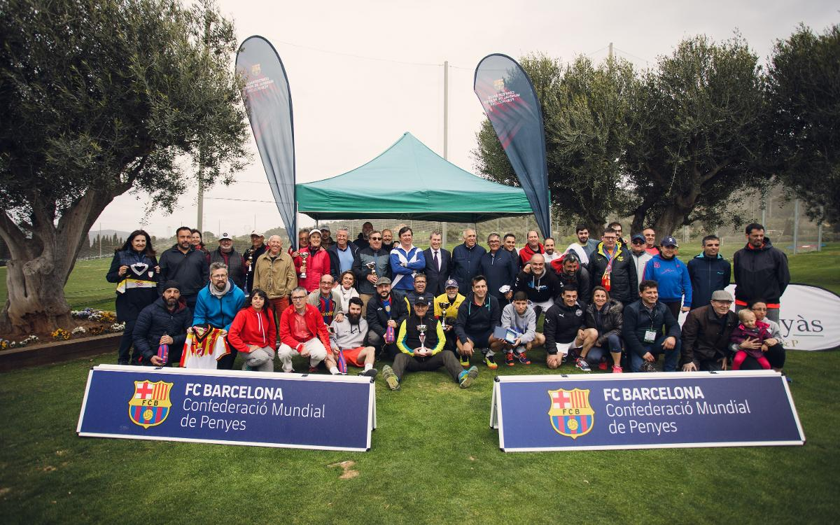 La Federació de Penyes del Barcelonès Est organizó tres torneos deportivos