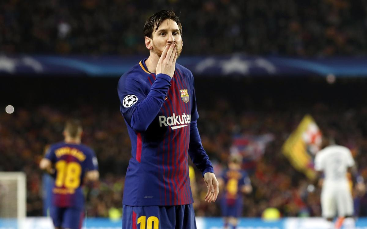 127 seconds: Messi scores his quickest ever goal