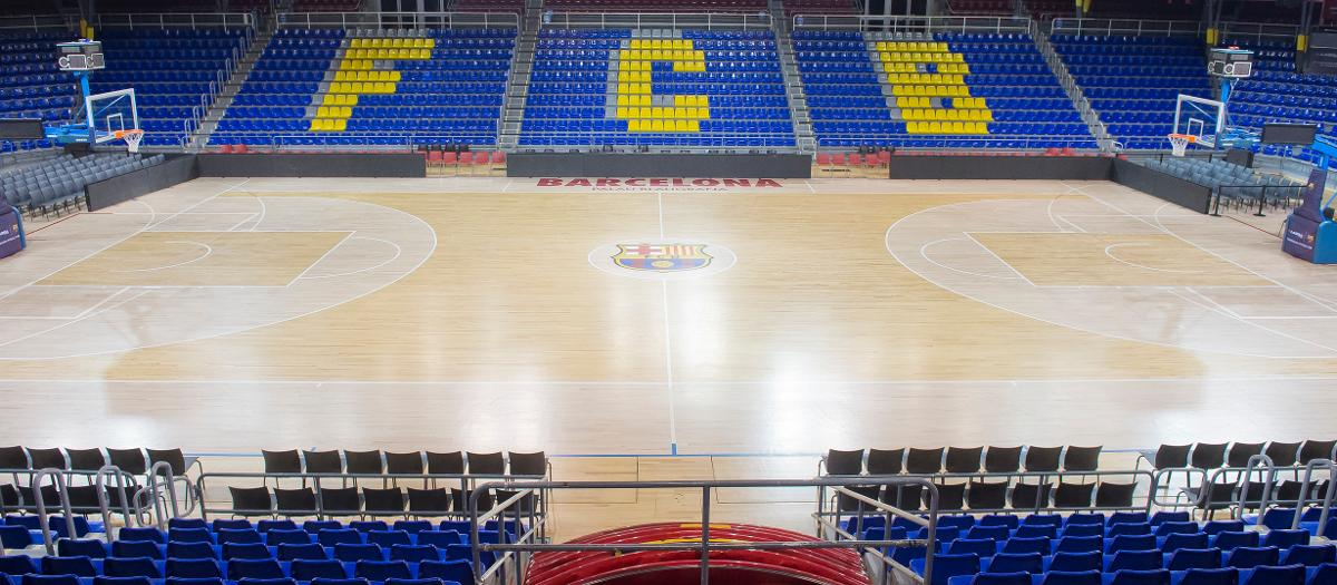 This is the New Palau Blaugrana