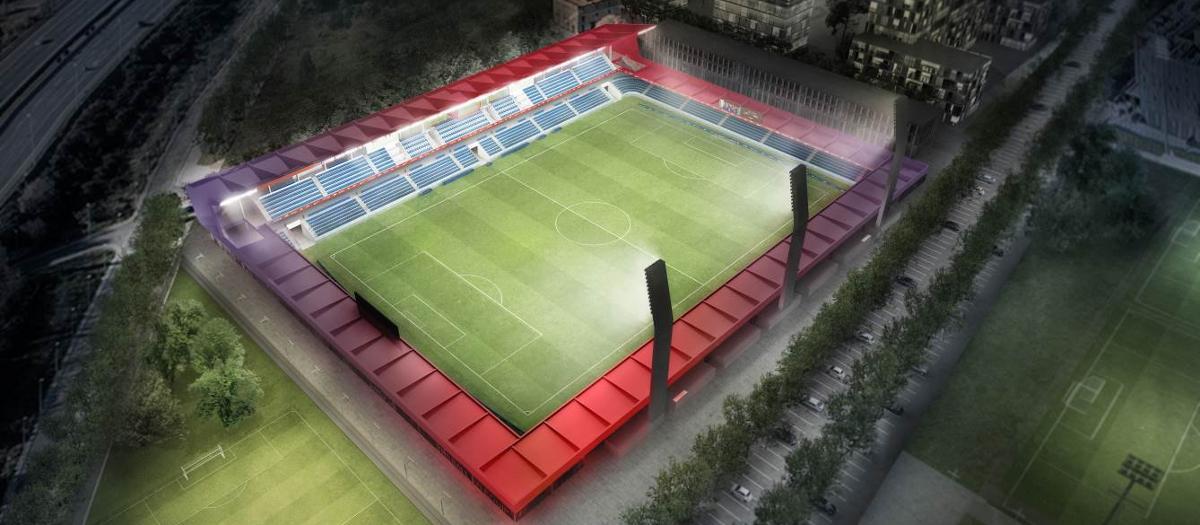 El Estadio Johan Cruyff