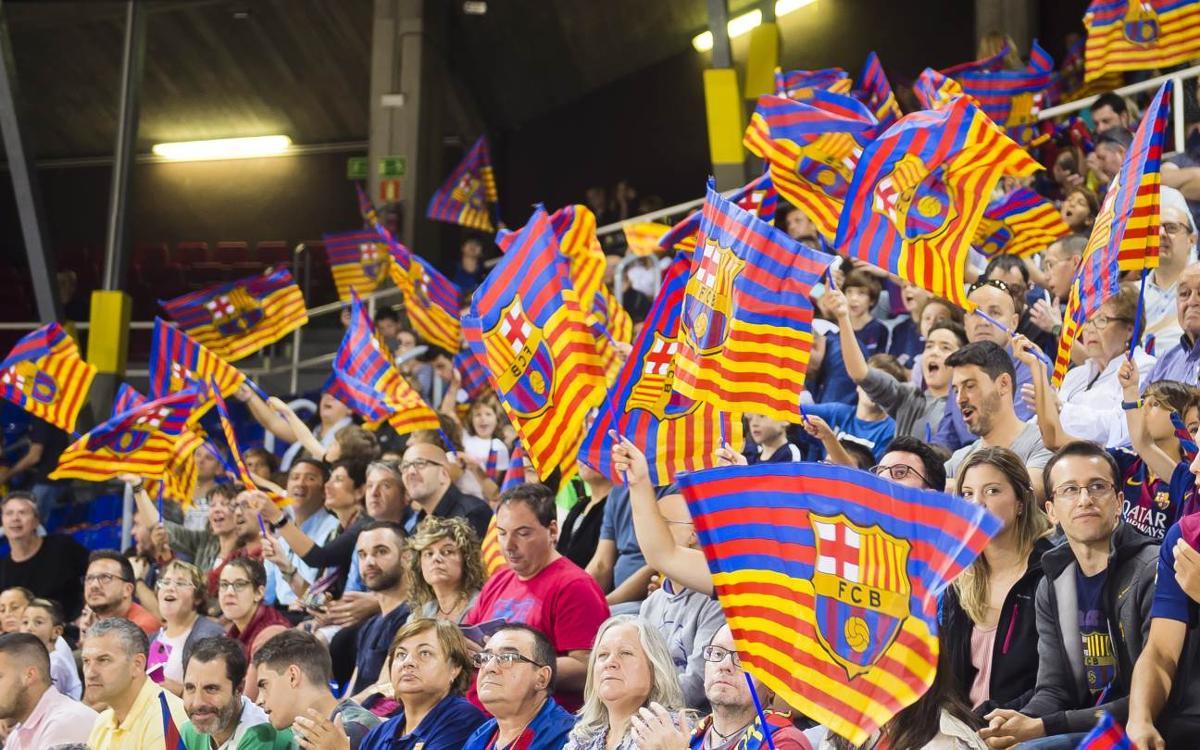 S'obren a la venda les entrades de visibilitat reduïda per al partit contra Movistar Inter