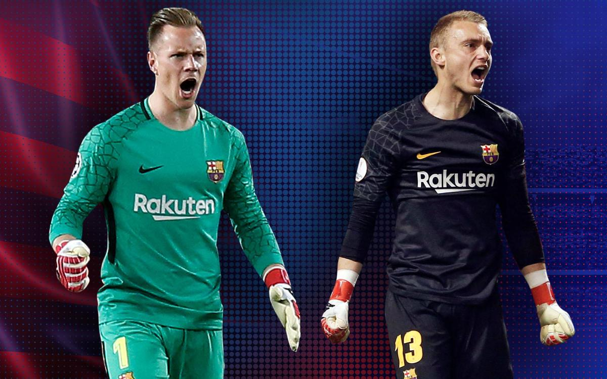 La del FC Barcelona, la mejor portería de la Champions
