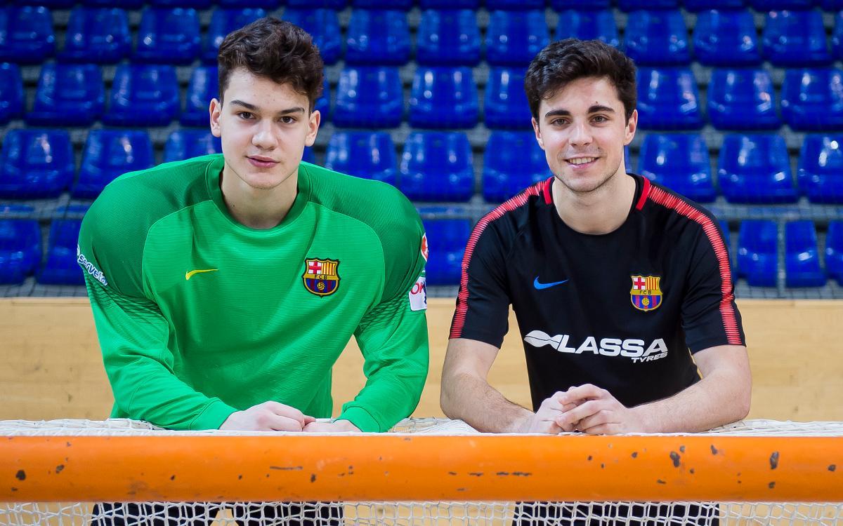 Ignacio Alabart y Xano Edo, listos para la Taça Latina