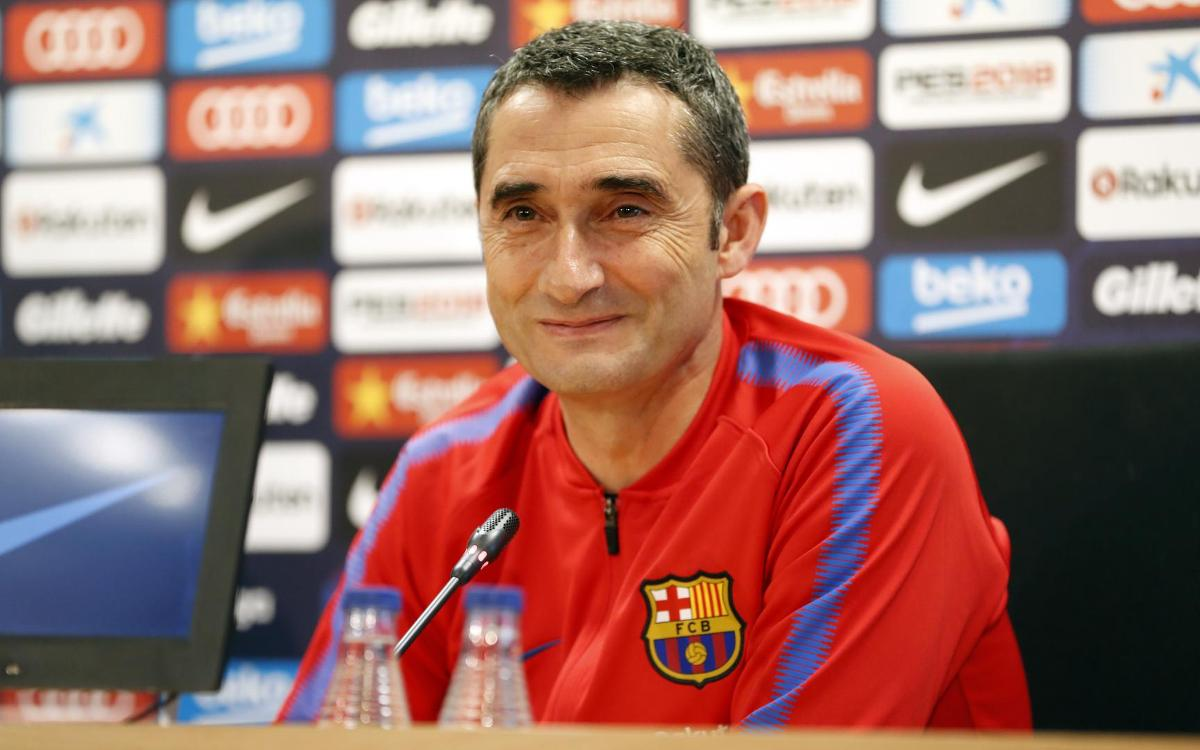"Ernesto Valverde: ""És un partit clau en un camp difícil"""