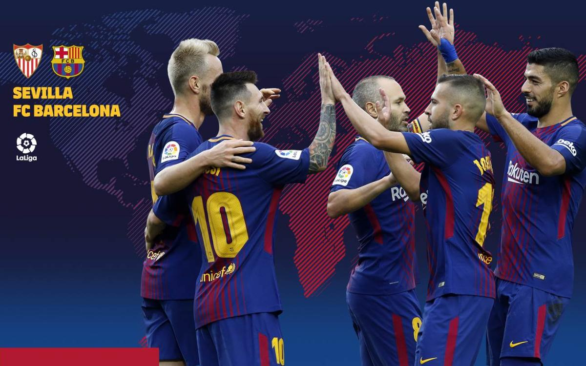 When and where to watch Sevilla v FC Barcelona