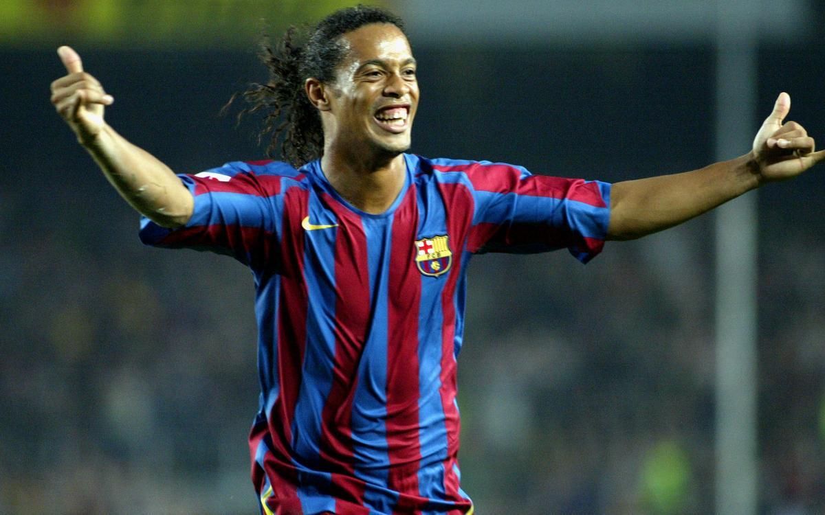 Tots els gols de Ronaldinho amb el FC Barcelona