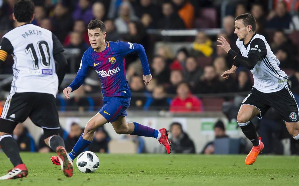 Confirmado el horario del Barça-Valencia