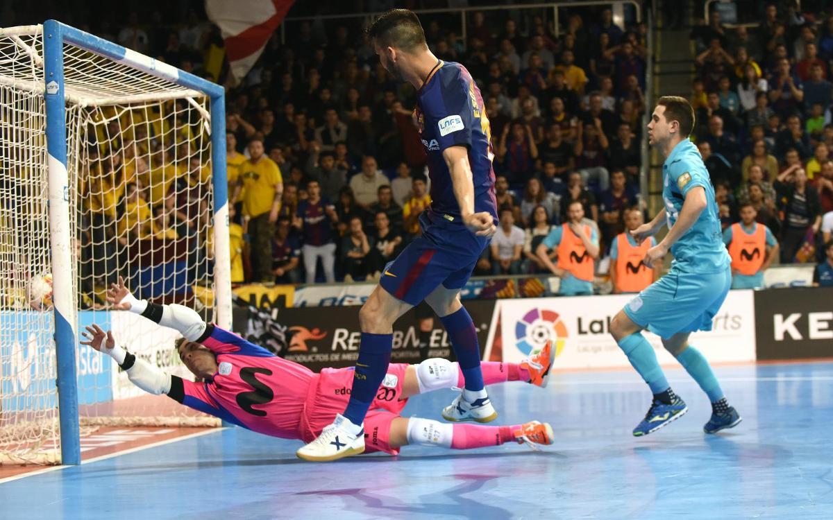 Barça Lassa 3-3 Movistar Inter: Lost opportunity