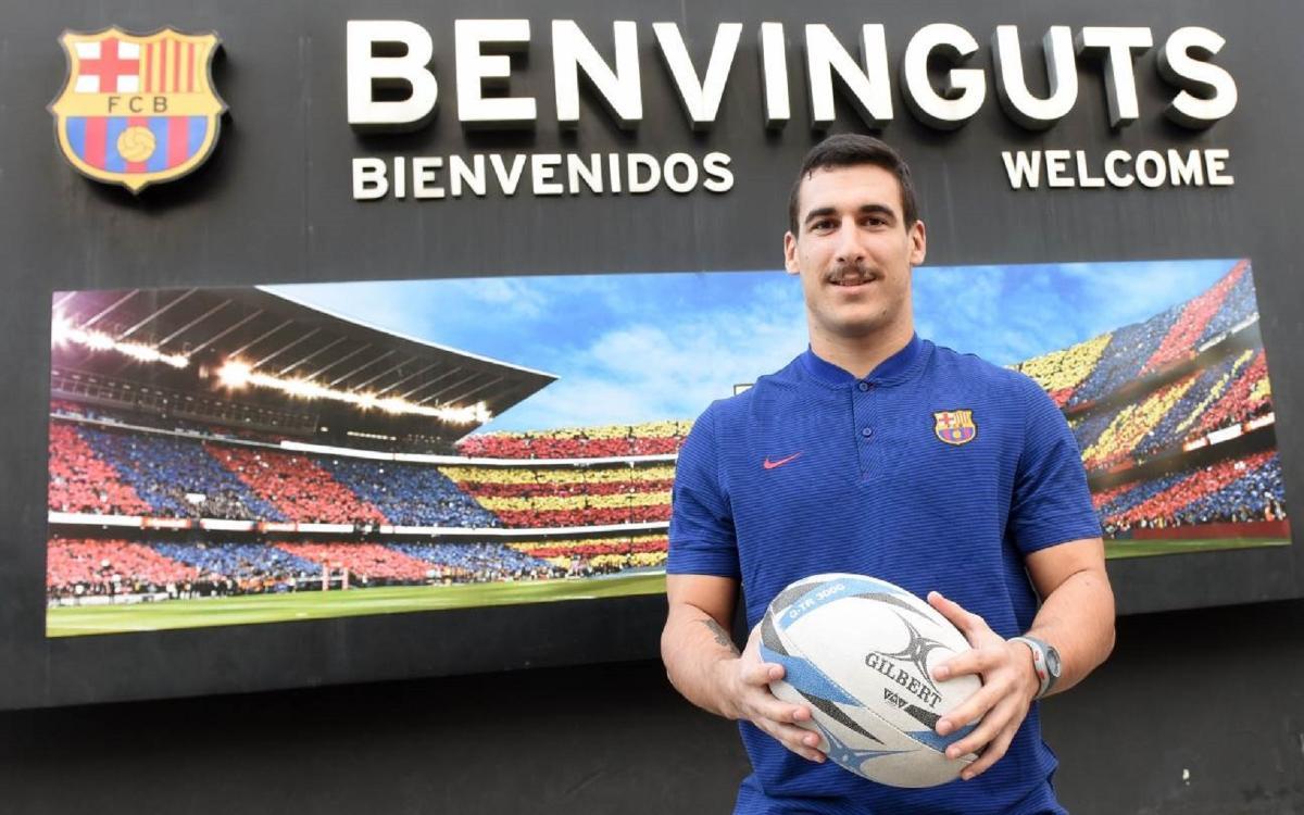 El Barça presenta a Rodrigo Marrón com a nou jugador del primer equip