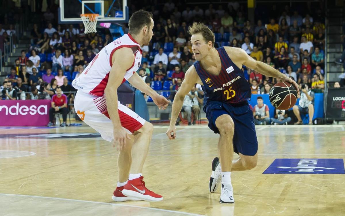 FC Barcelona Lassa - Baskonia: Partit de nivell al Palau