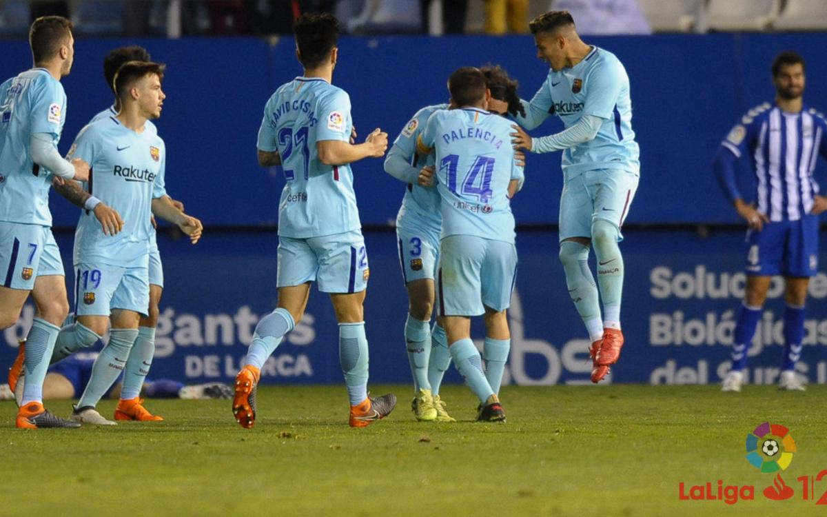 Lorca FC 1-1 Barça B: Away form continues