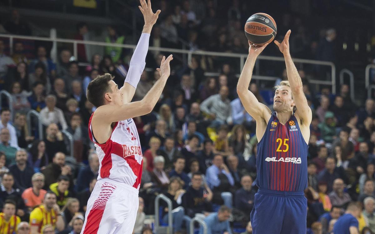 FC Barcelona Lassa - Saski Baskonia: Derrota en el último cuarto (73-86)