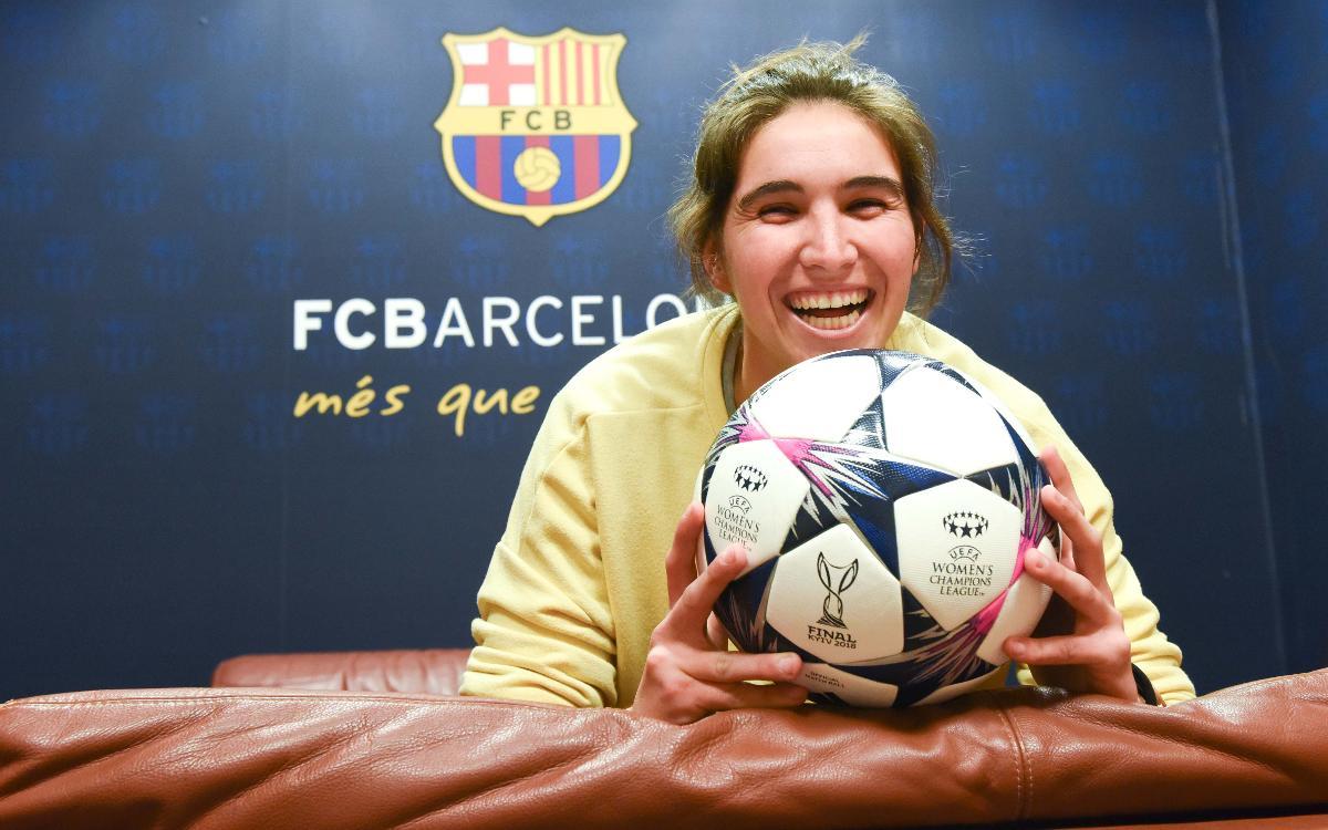 """Mariona: """"Que vingui la gent al Mini perquè veuran el millor futbol femení"""""""