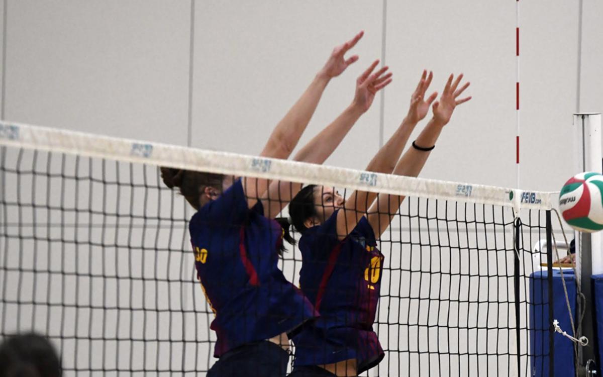 El voleibol femení lluitarà per seguir a Europa
