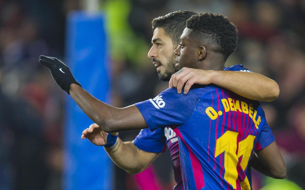 Barça v Leganés, Saturday, April 7 at 8.45pm CET