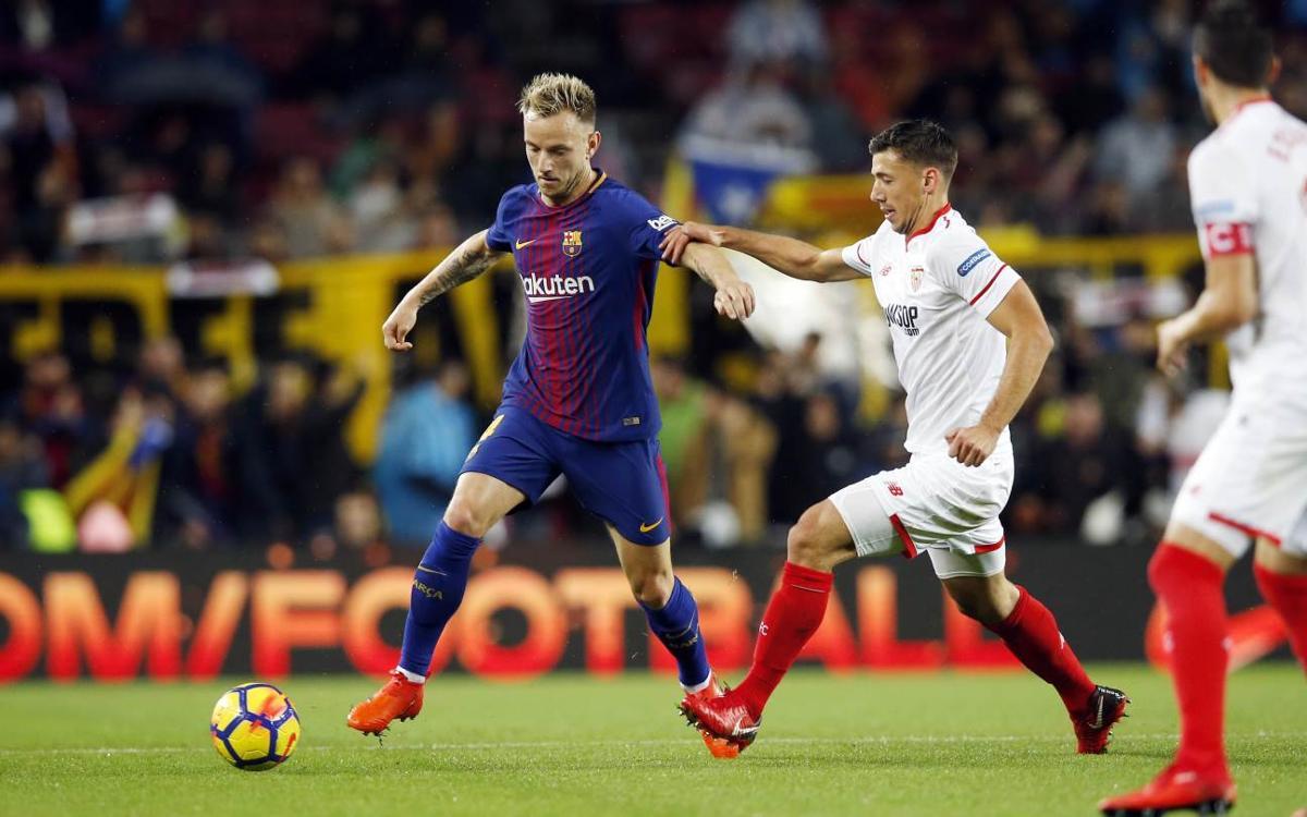 Un triple Sevilla - FC Barcelona