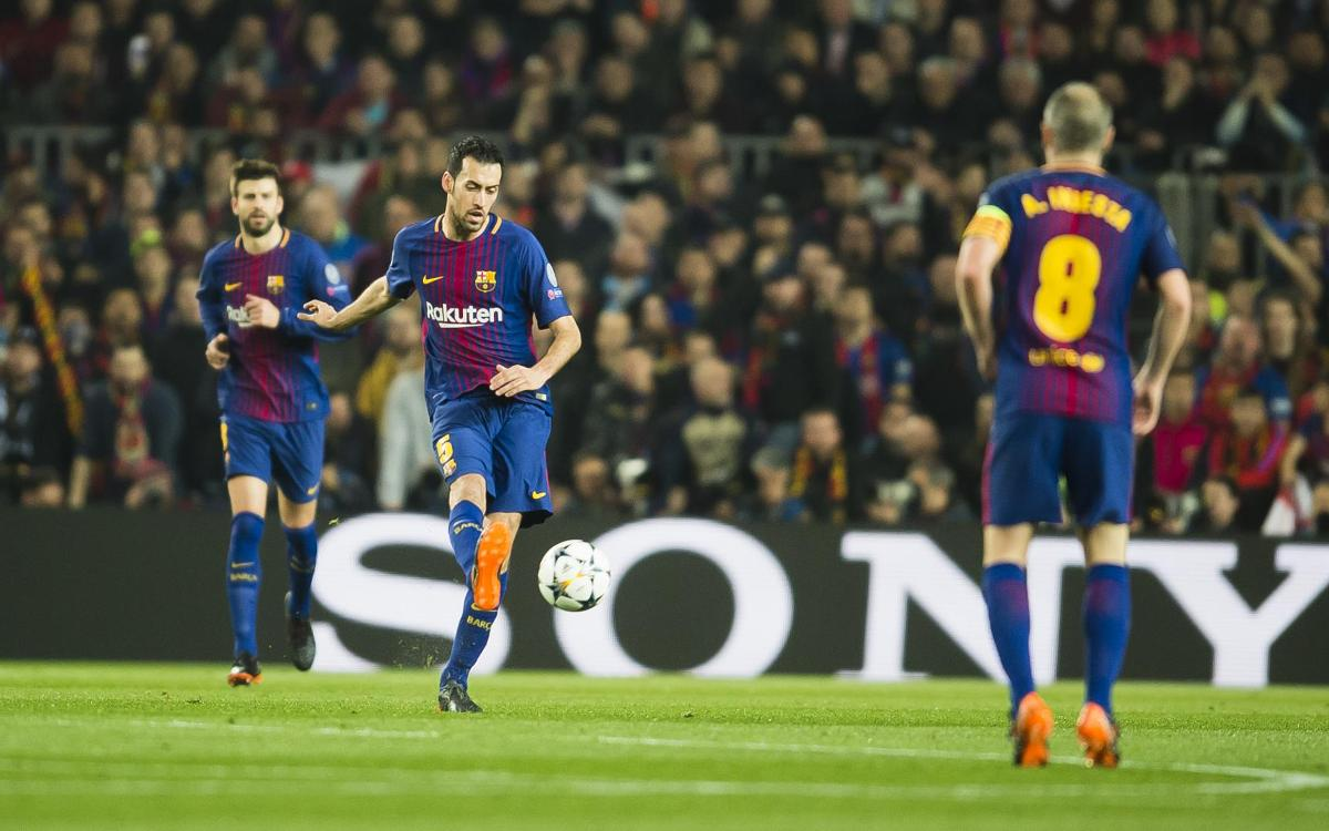 Injury news: Sergio Busquets out for 3 weeks