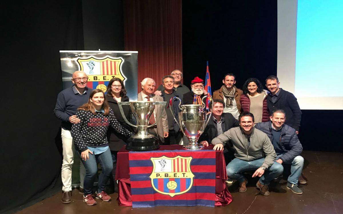 La Penya Els Tamarells, 15 años de historia, 1.215 socios y una nueva sede