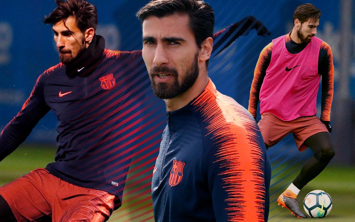 How does André Gomes train?