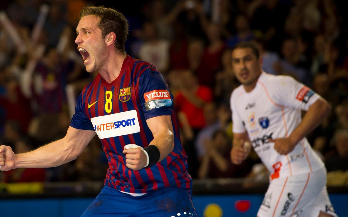 Las remontadas contra el Montpellier en el Palau Blaugrana