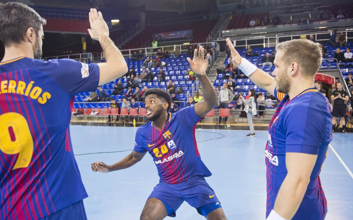 El Barça Lassa afronta la recta final de la Liga Asobal