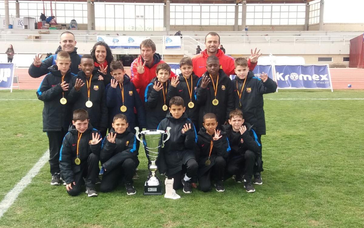 Real Madrid - Benjamín A: ¡Campeones de la Íscar Cup! (0-2)