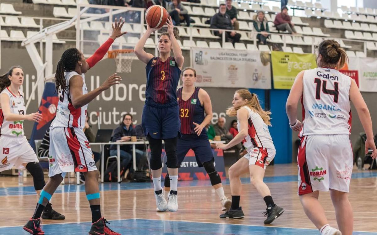 El Barça CBS afluixa en el tercer quart i l'Ensino s'emporta la victòria (65-75)