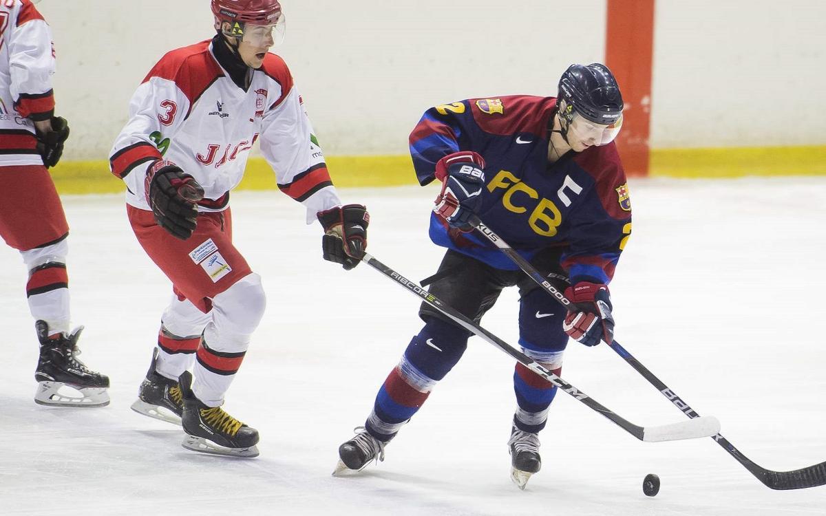 Suspès el partit entre el CH Jaca i el Barça d'hockey gel