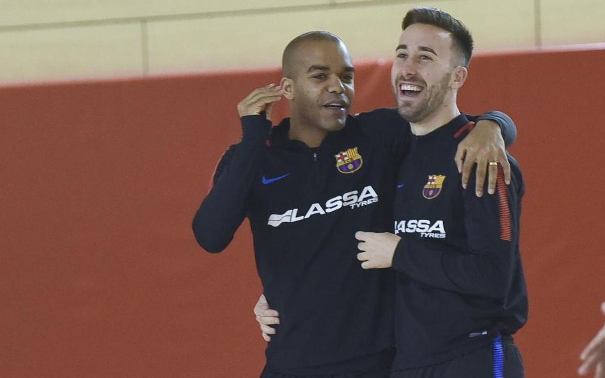 """Plaza i Rivillos: """"Els dos equips ens hi juguem molt"""""""