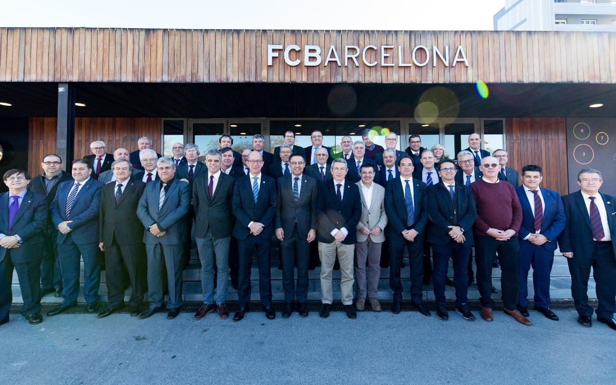 FC Barcelona Supporters Clubs World Confederation celebrates third anniversary