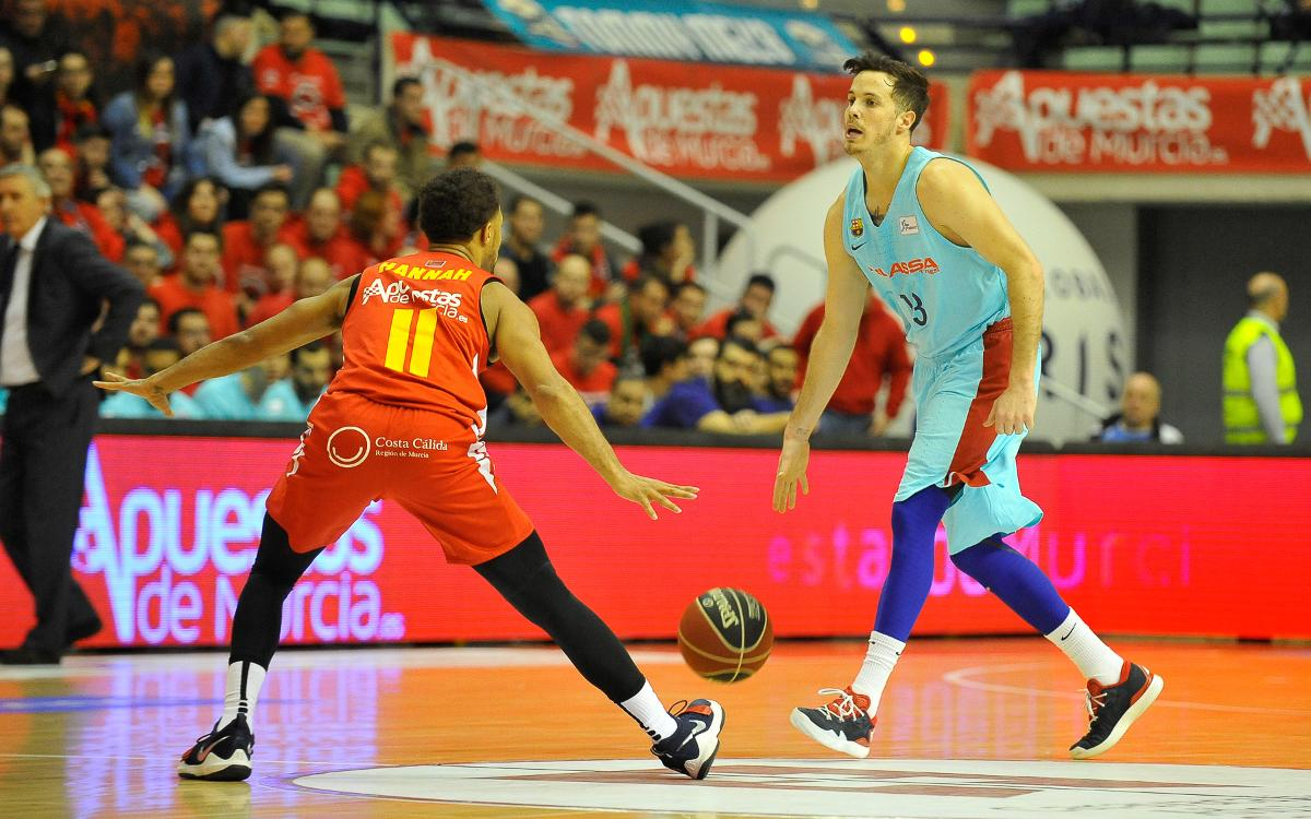 UCAM Múrcia – Barça Lassa: Victory through hard work (55-61)
