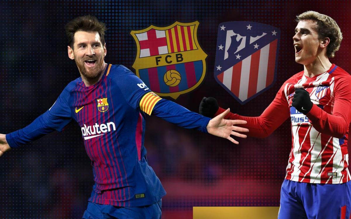 FC Barcelona - Atlético de Madrid: Duelo de gigantes en el Camp Nou