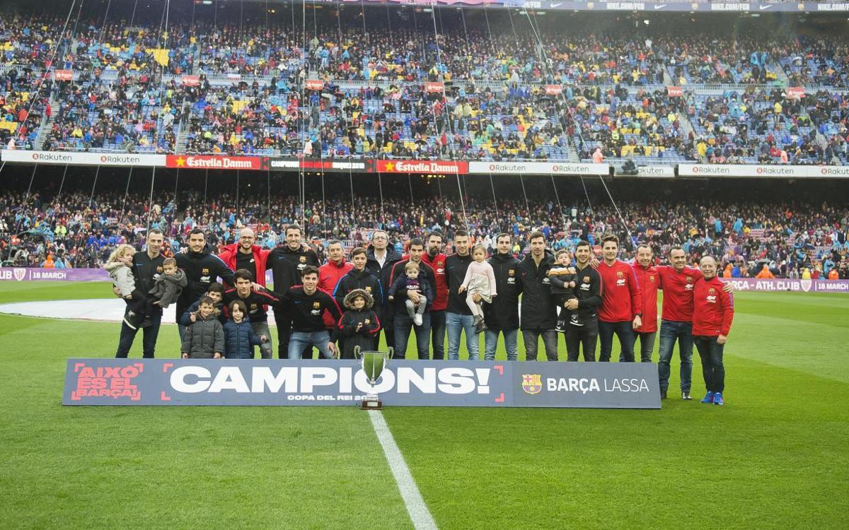 El Barça Lassa ofrece la Copa del Rey al Camp Nou