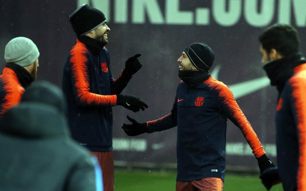 Vidéo - Reprise du travail pour le FC Barcelone, à 2 jours du déplacement aux Canaries