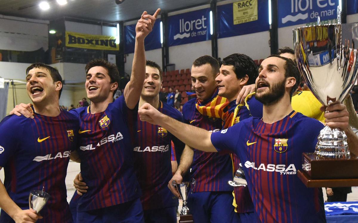 El rey de Copas suma el tercer título consecutivo