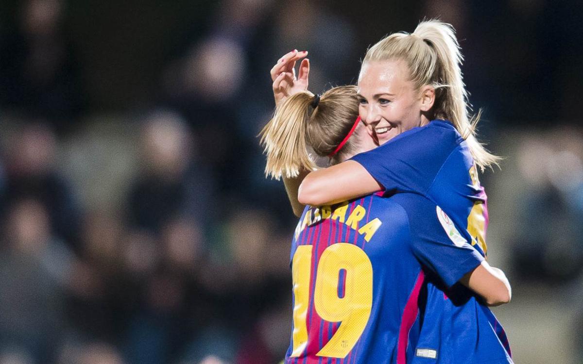 Exhaurides les entrades per al Barça Femení – Atlètic de Madrid
