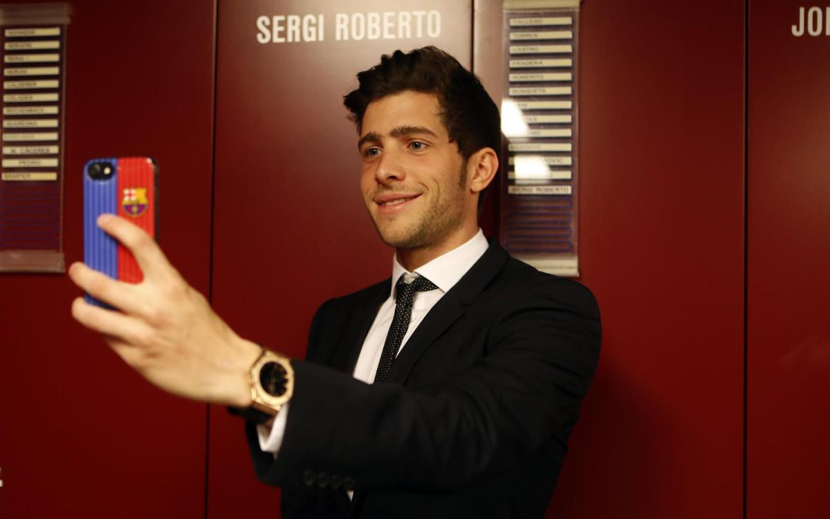 Sergi Roberto se moja con su test más personal