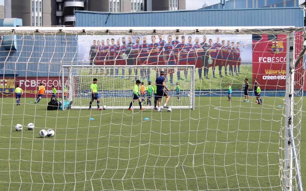 Last training day of the season / FCB