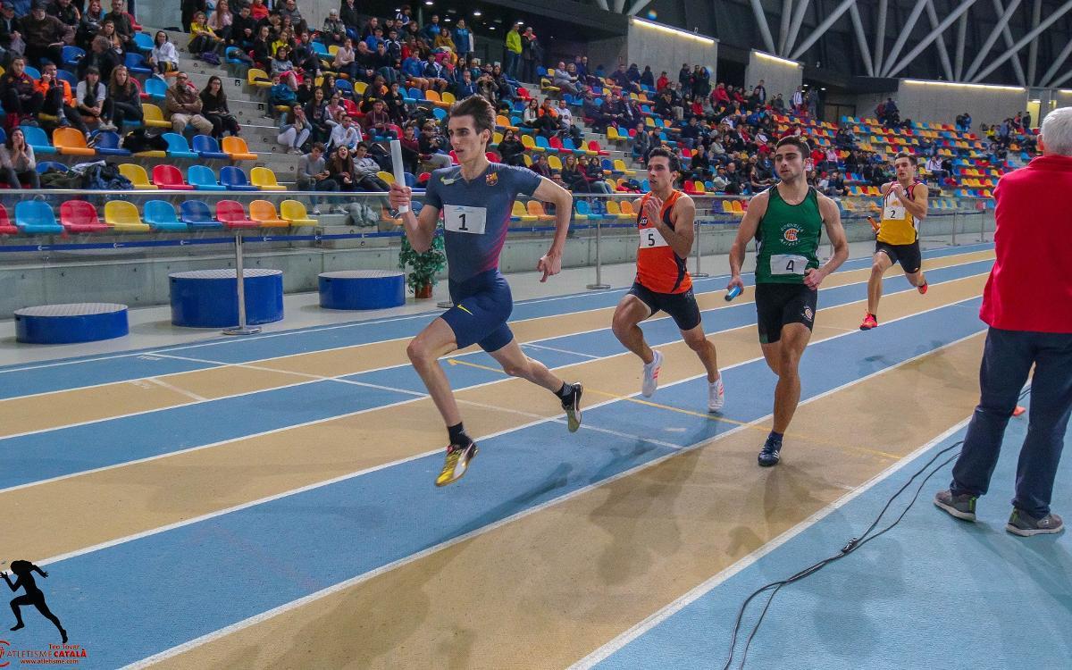 Fin de semana de éxitos para la sección de atletismo del Barça