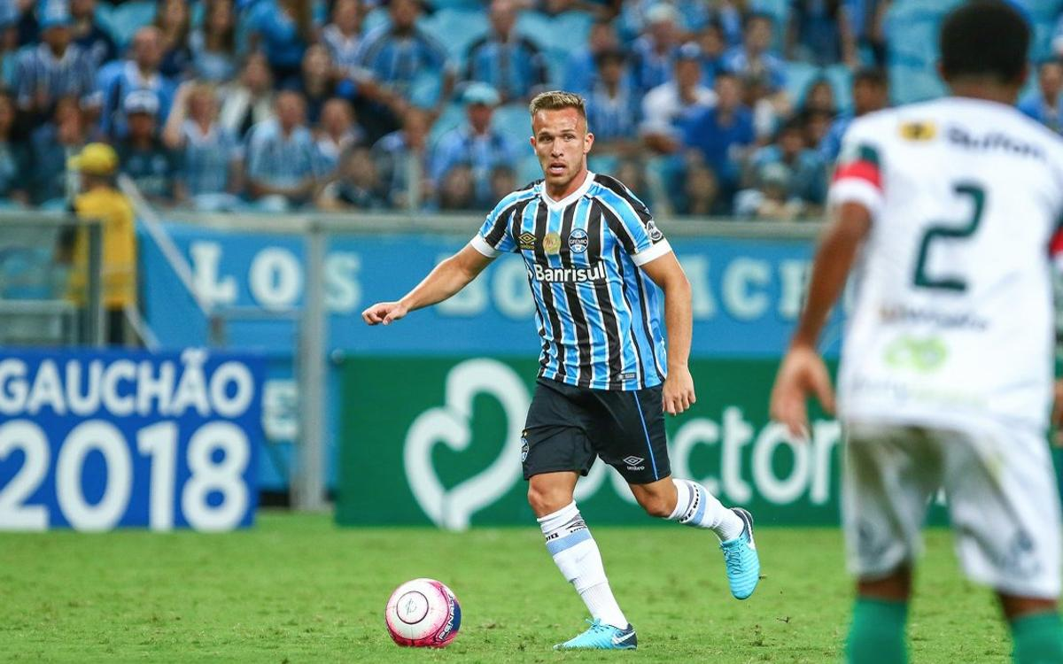 Barça and Gremio reach agreement on option for Arthur transfer