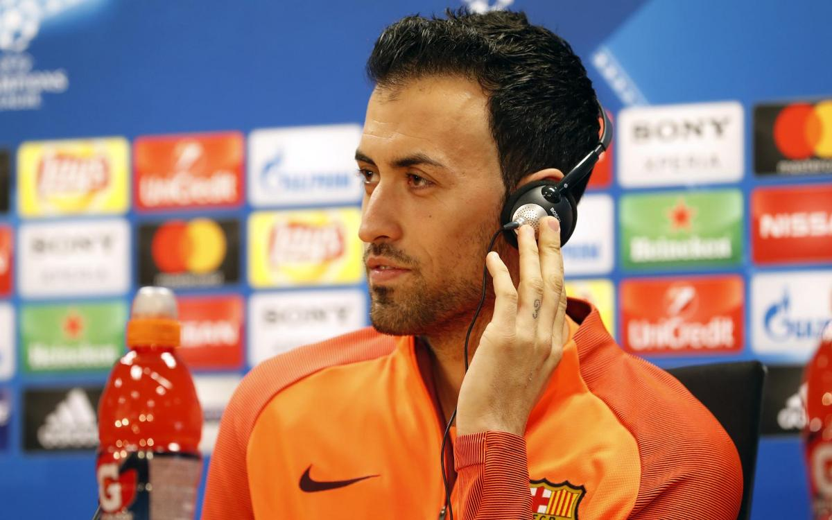 VIDEO Sergio Busquets press conference quotes before Barça vs Chelsea